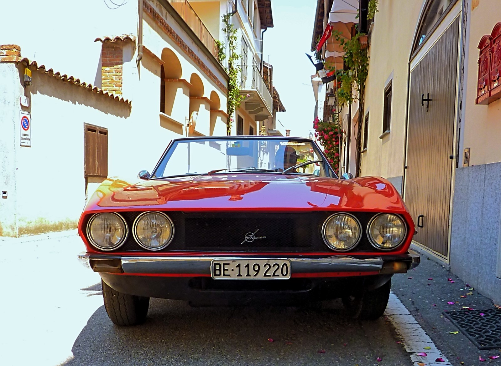 1968 Michelotti TR5 Ginevra Prototype (44)