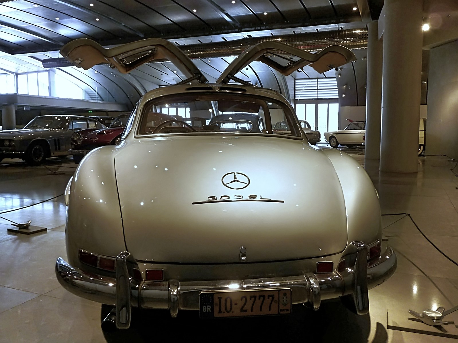 1954 Mercedes-Benz 300SL Gullwing ex.Paul Newman (6)