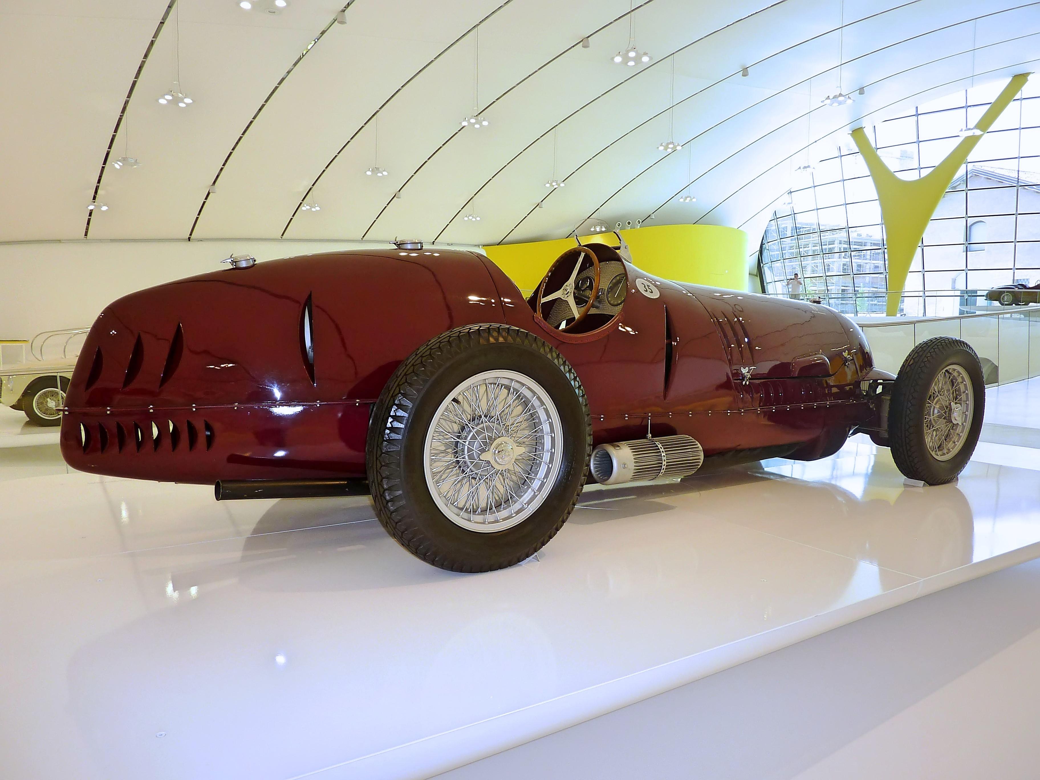1936 Alfa Romeo Tipo 12C  (24)