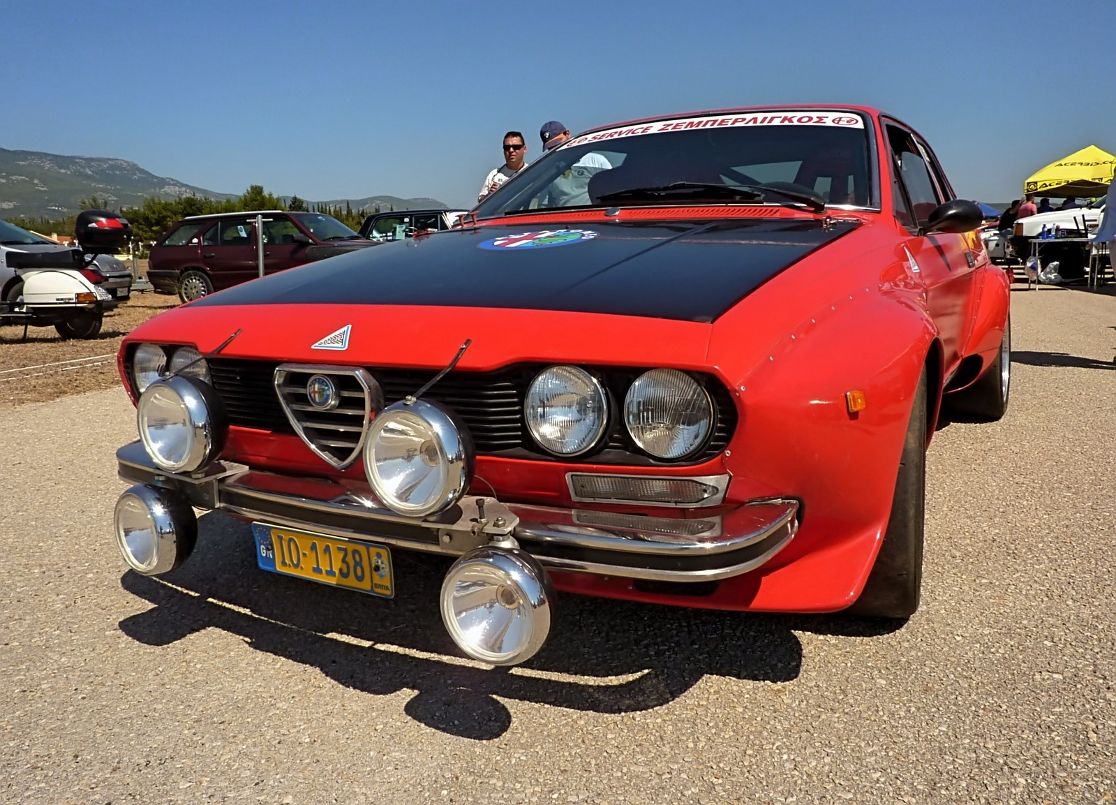1974 Alfa Romeo Alfetta GT 1800 Group 2 (2)