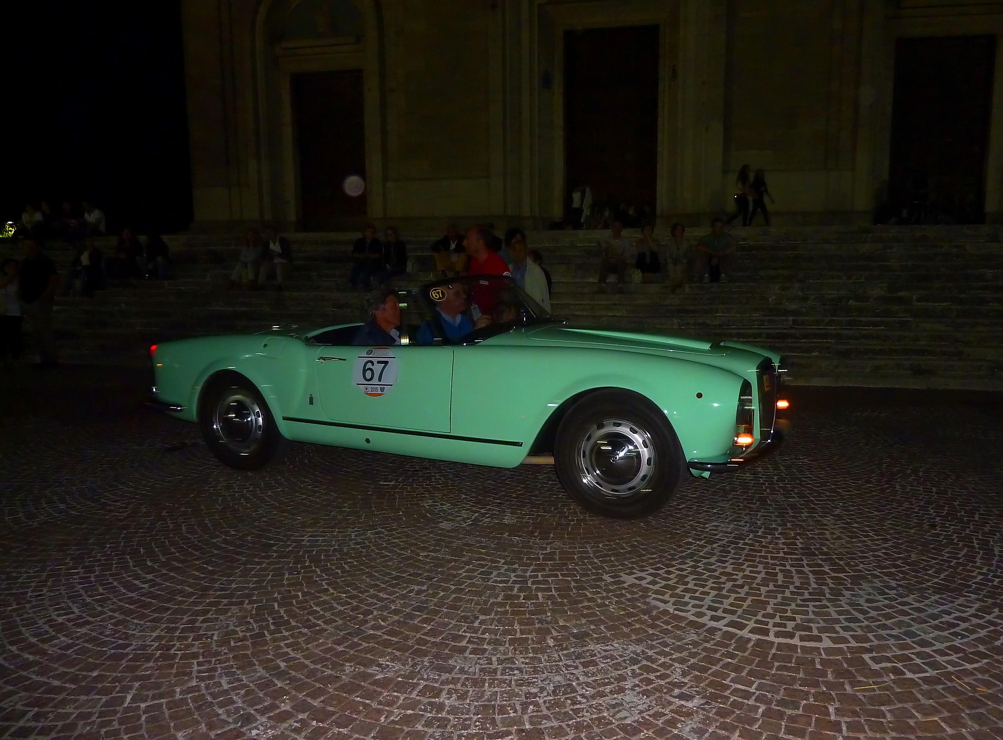 1956 Lancia Aurelia B24 Cabriolet  (22)