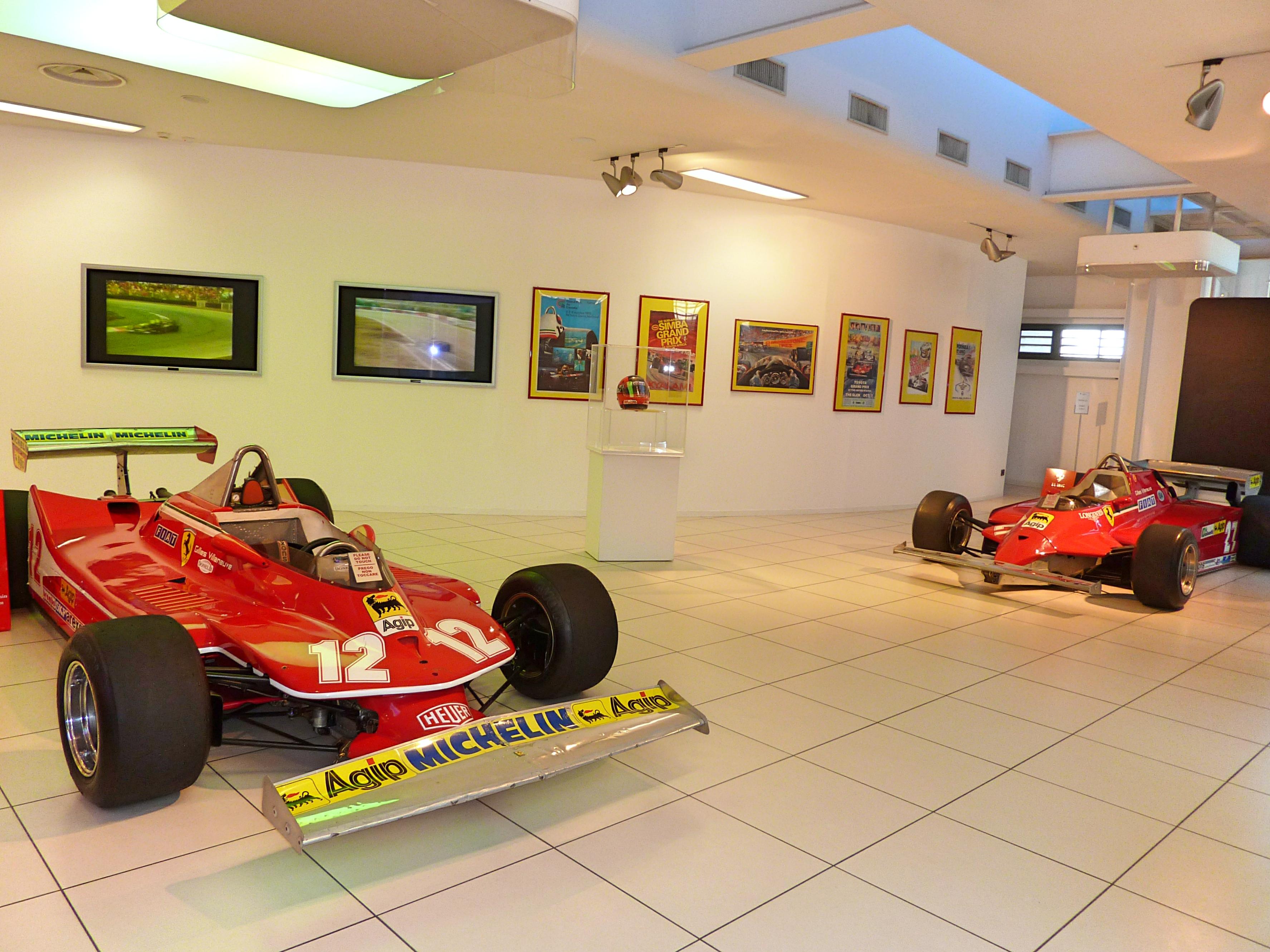 Ferrari 312 T4 & Ferrari F1 126C