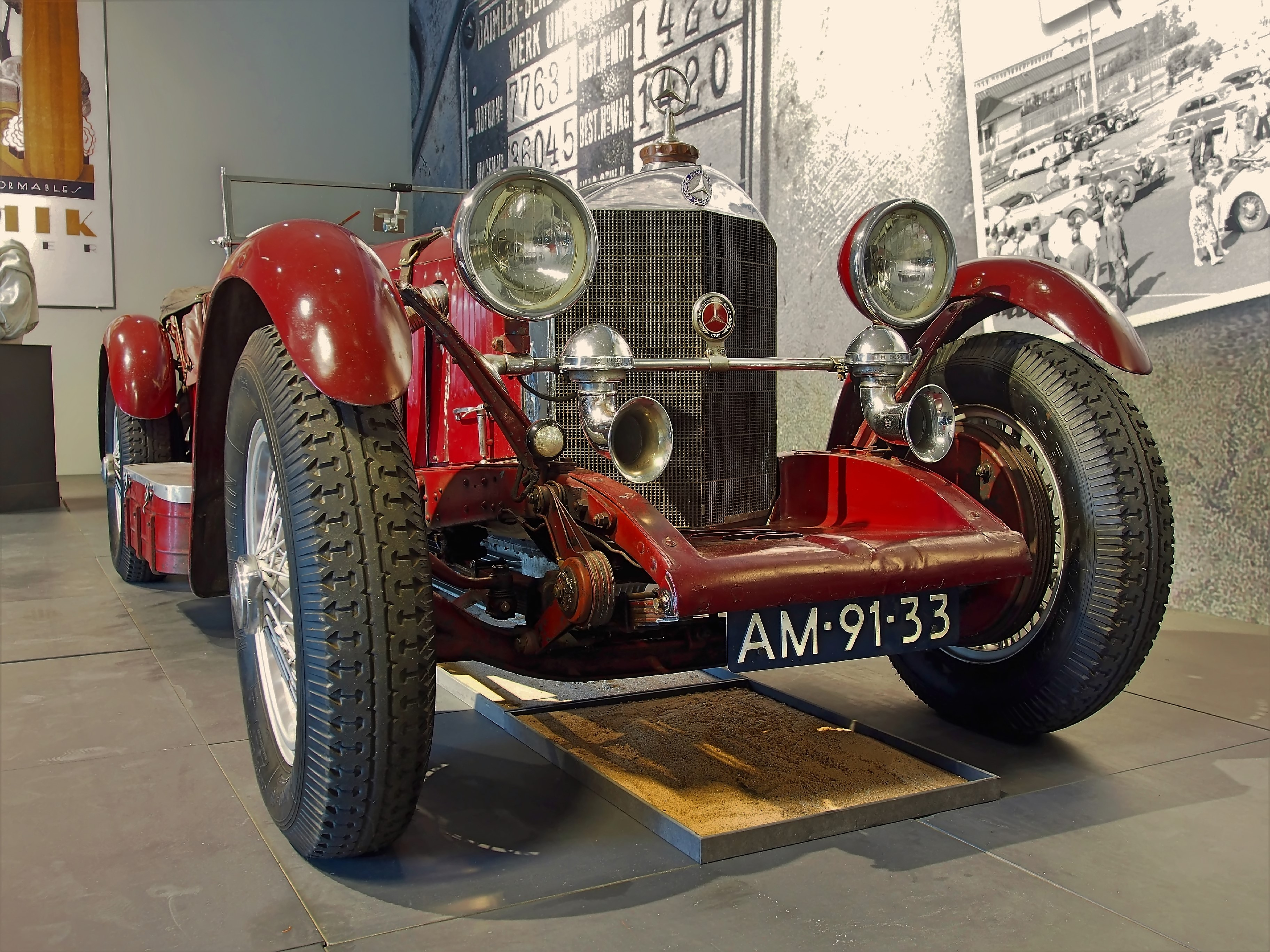 1929 Mercedes Benz SSK  (4)