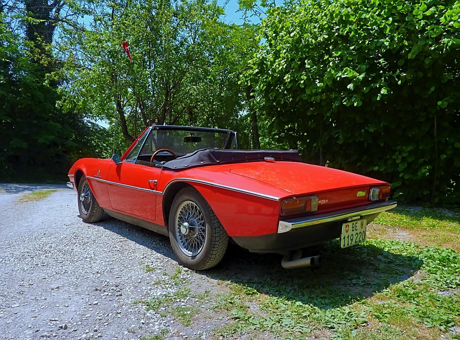 1968 Michelotti TR5 Ginevra Prototype (37)