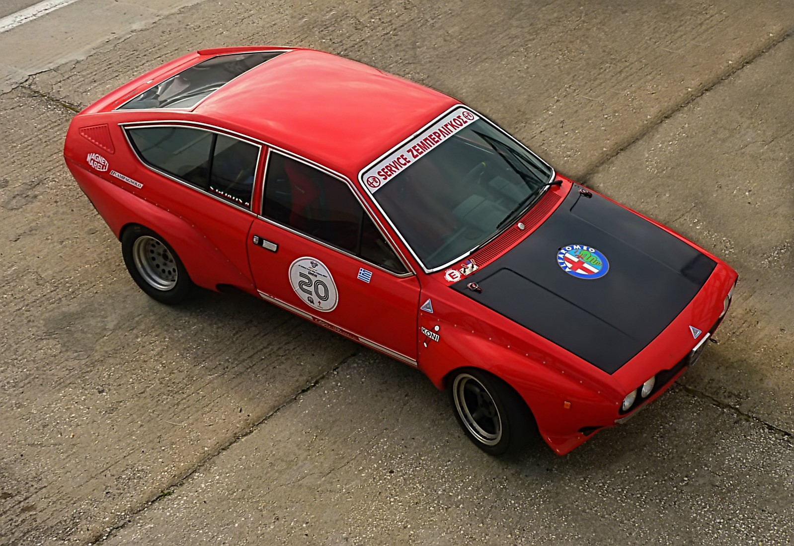 1974 Alfa Romeo Alfetta GT 1800 Group 2 (25)