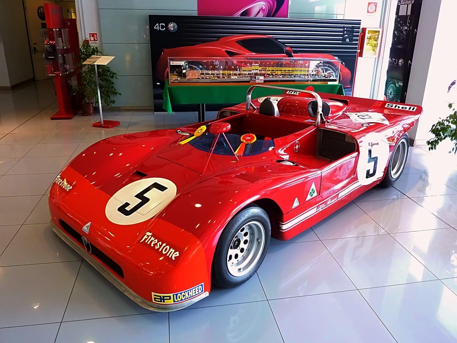 1971 Alfa Romeo T33-3 Spider  (13)