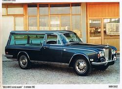 1980 Dario Casale Rolls- Royce Funebre