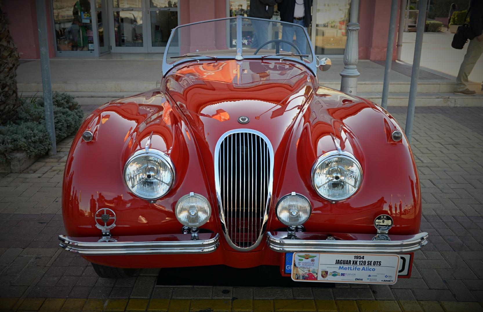 1954 JAGUAR XK120 SE OTS