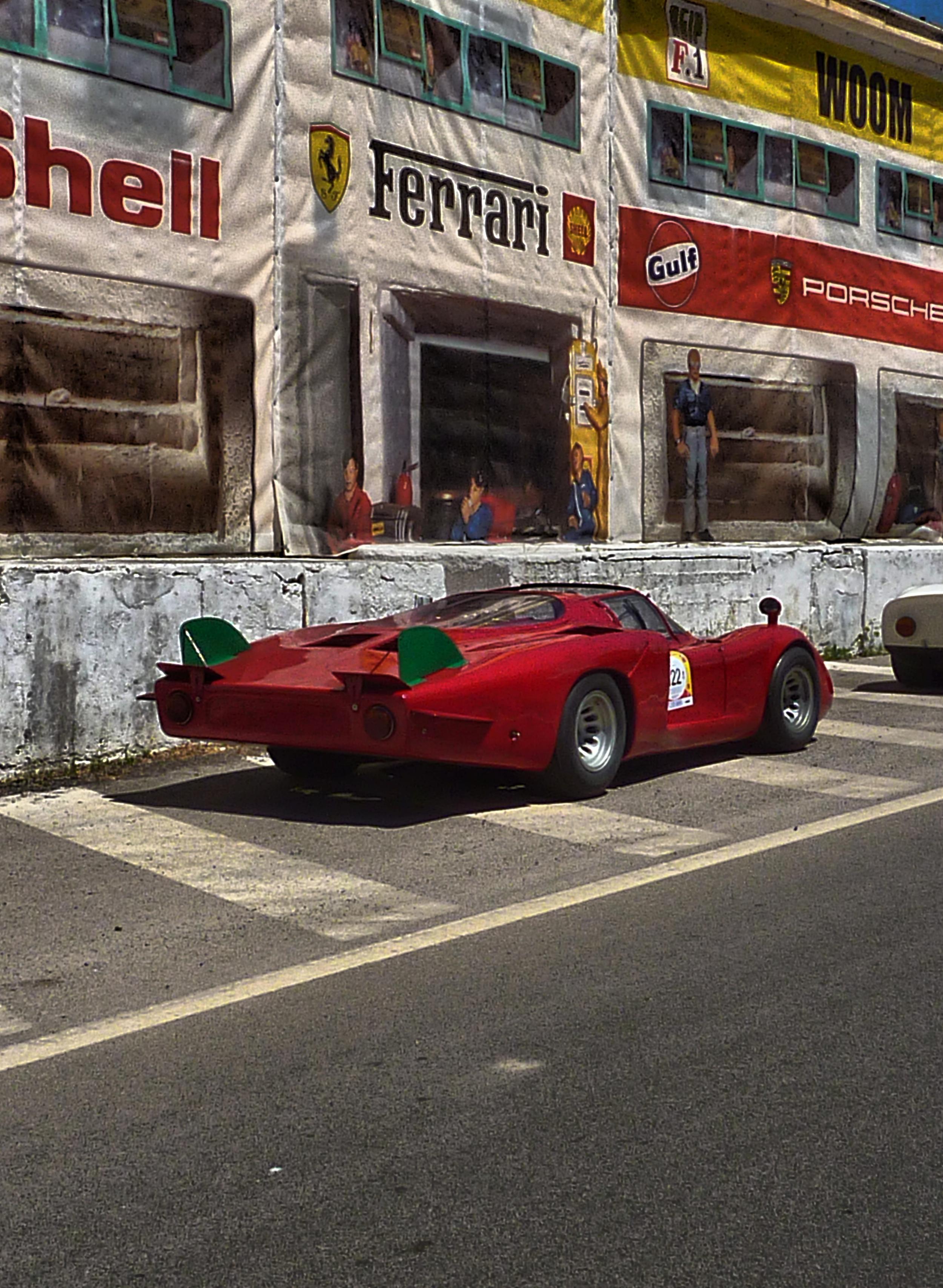 1968 Alfa Romeo T33-2 LeMans(Coda Lunga) (32)