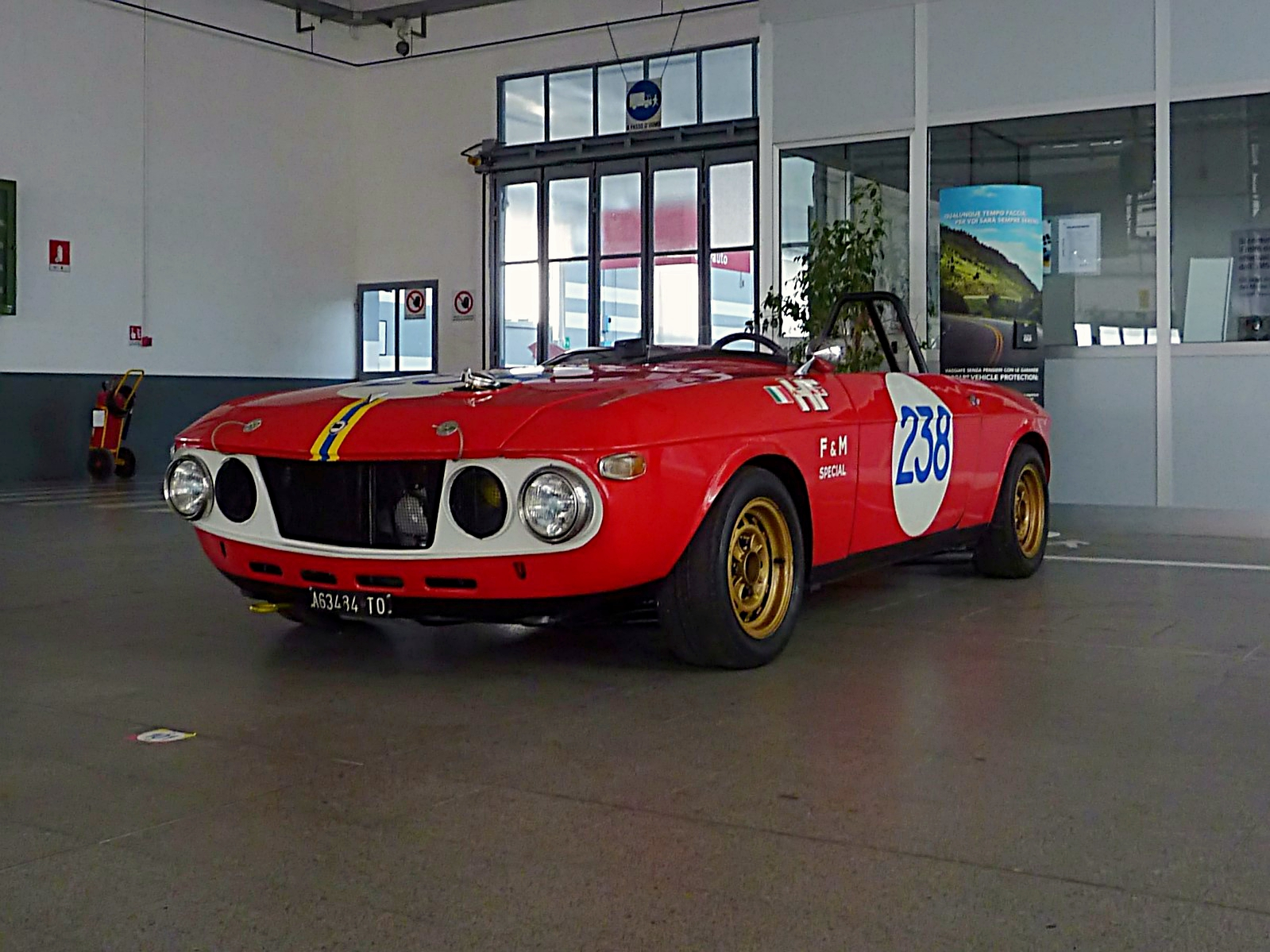 1969 Lancia Fulvia HF Barchetta F&M (Sandro  Munari) (2)_Fotor