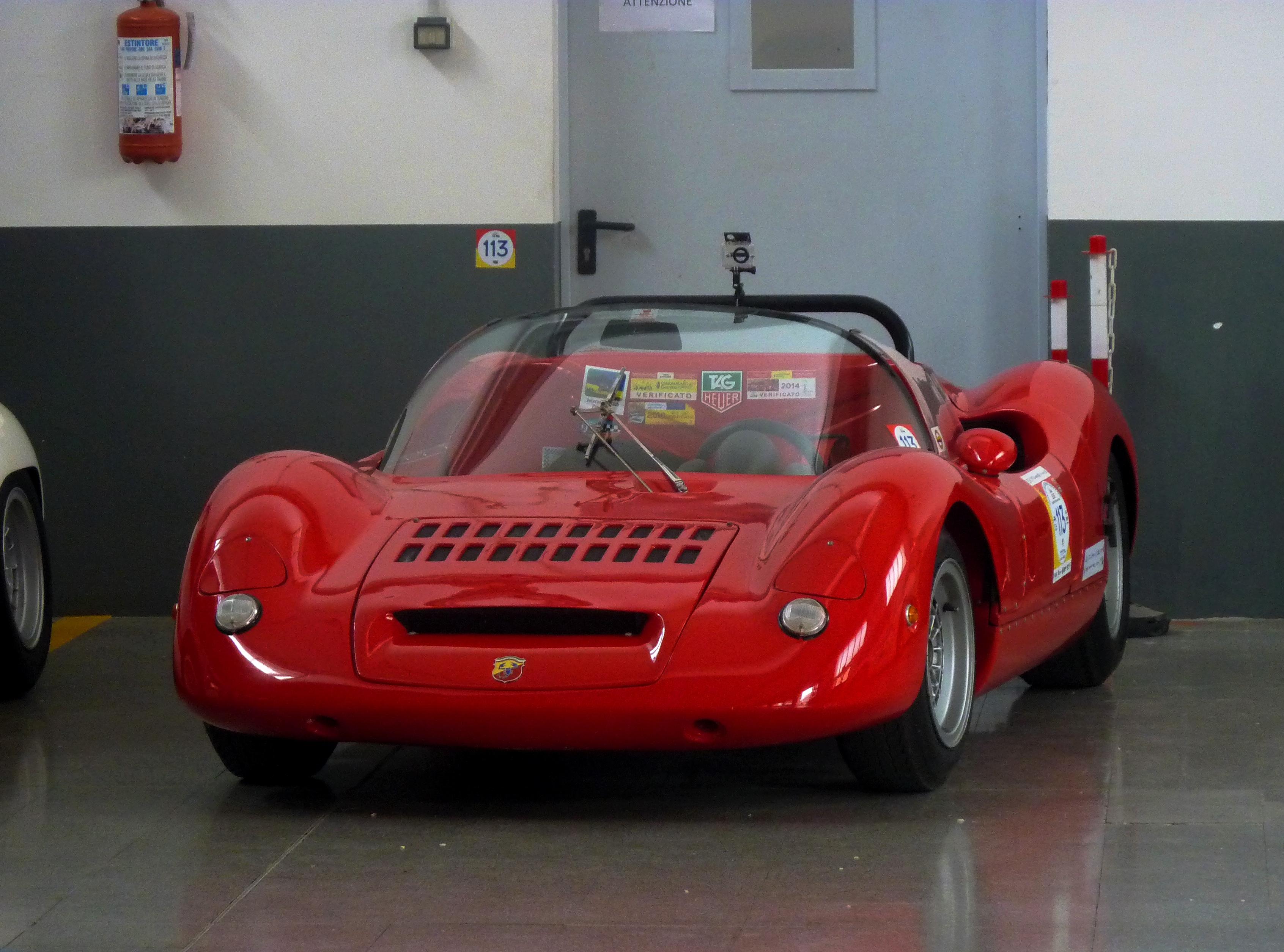 1966  Abarth 1000 SP   (14)