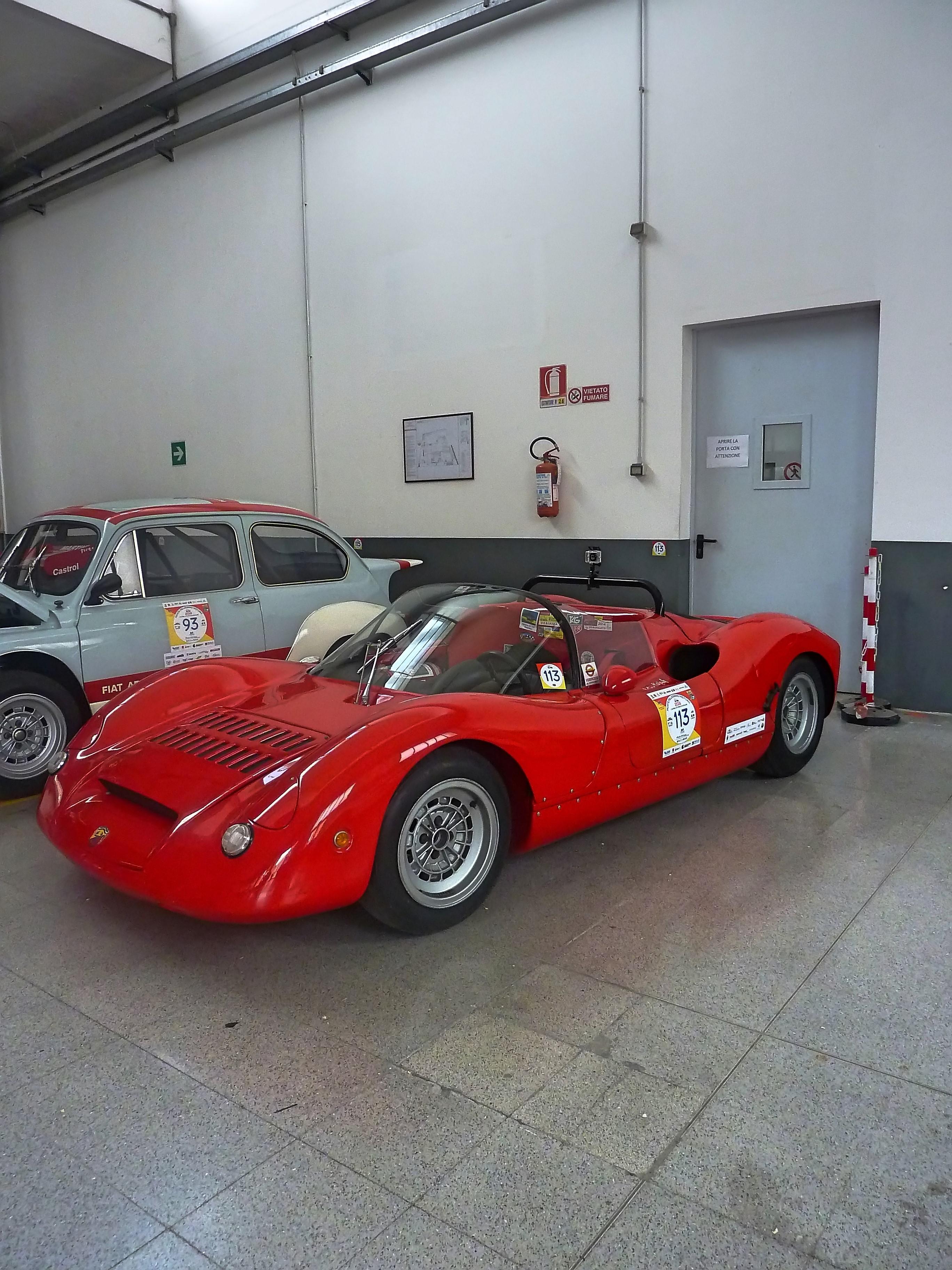 1966  Abarth 1000 SP   (12)