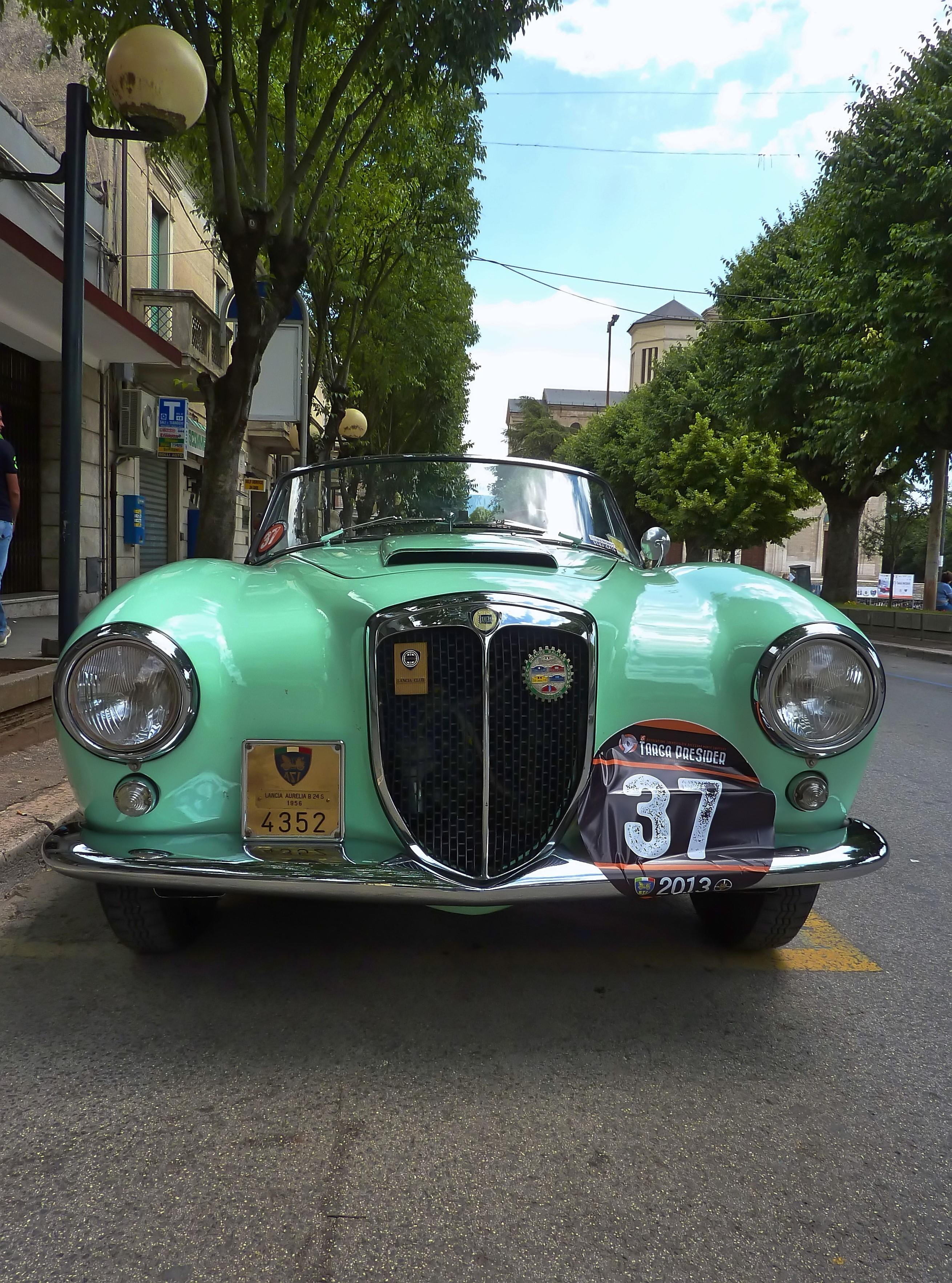 1956 Lancia Aurelia B24 Cabriolet  (14)