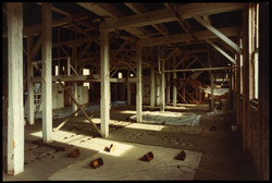 Pulley Room, Earle-Chesterfield Mill (3-85)