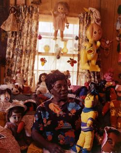 Nellie Mae Rowe with Dolls (2-77) #1