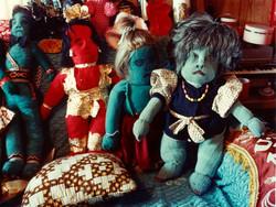 Nellie Mae Rowe's  dolls (2-77)