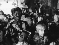 Nellie Mae Rowe with David, Scott & Andy (2-77)