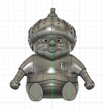 イラストから3Dデータに変換 NARUKI