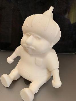 3Dプリンターを用いた造型物
