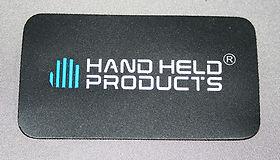 Hand Held Printer Label