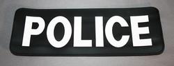 Law Enforcement Vest Label