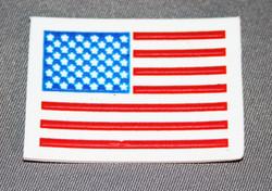 U.S. Flag Label