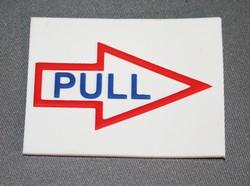 Indicator, Instruction Label