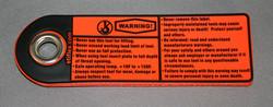 Hand Tool Warning Tag