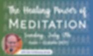 Meetup - The Healing Power of MEditation