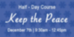 Keep the Peace Day Course BANNER.jpg