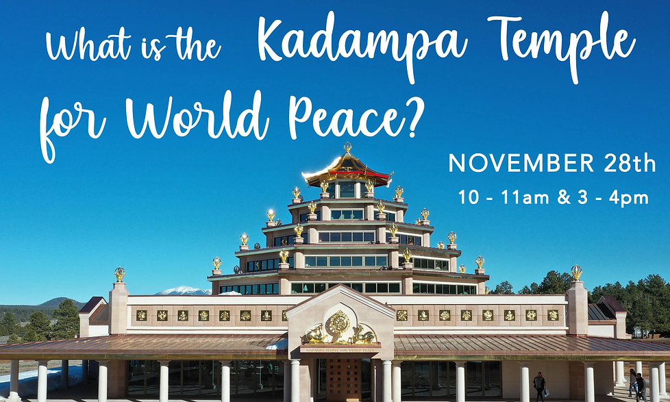 What is the Kadampa Temple for World Pea