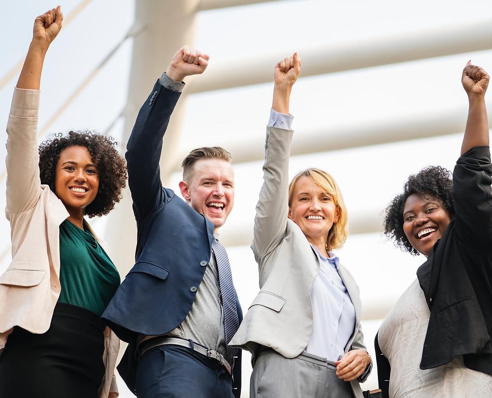 Mastermind groups of like minded people sharing success