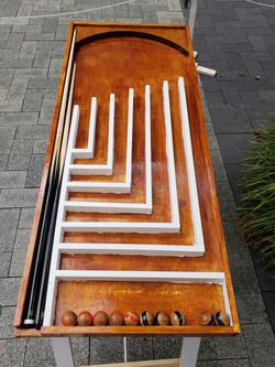 Mini Old-world pool table