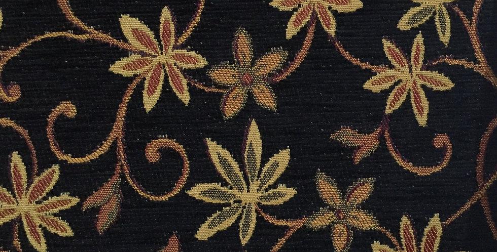 Black Vining Floral