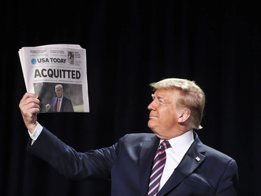 Donald Trump has been acquitted
