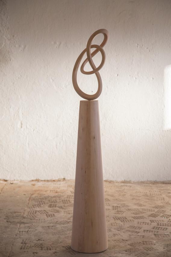 Liana en madera de abedul