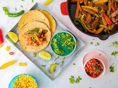 Meksykańska fiesta w Twoim domu, czyli fajitas z Roślinnym Qurczakiem Mexicano na ostrrro!
