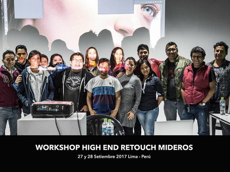Workshop High End Retouch Mideros 2017 - Lima, Peru