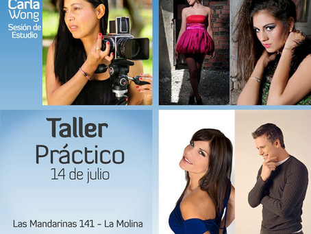 Afiche del Taller Práctico 14 julio 2015