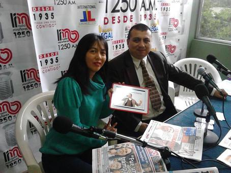 Entrevista en Radio Miraflores