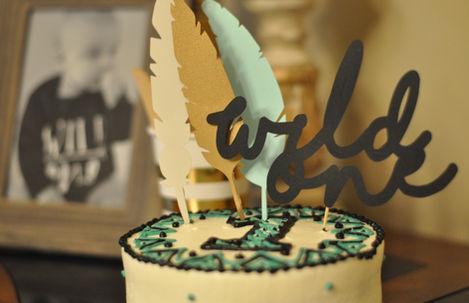 'Wild One' 1st birthday party