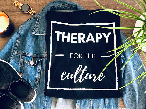 Therapy for the Culture Tee - Unisex