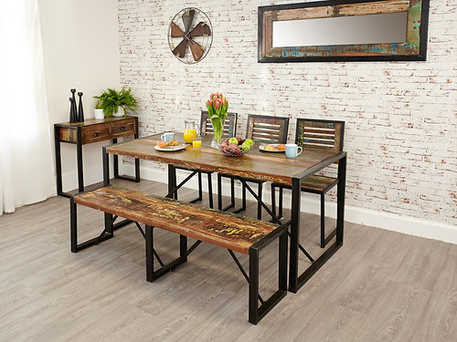 Perfect Baumhaus Urban Chic Dining Table Large