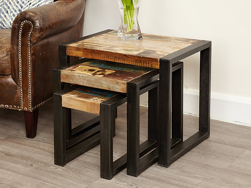 Delightful Urban Chic Nest Of Tables