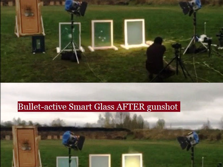 """Shield House Solutions Ltd. presents """"Smart Glass"""" solution for comfort and safety."""
