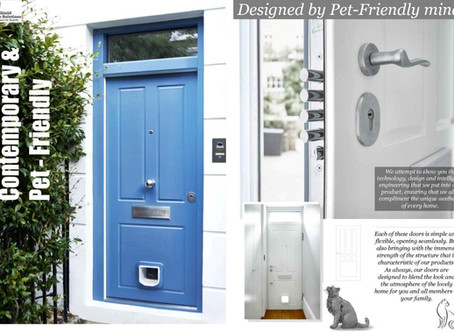 Contemporary & Pet-Friendly Security Doors