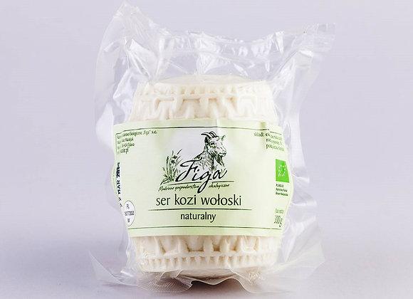 ser kozi wołoski naturalny - walec ok. 300 g.