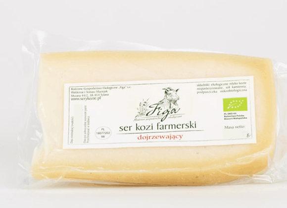 ser kozi farmerski dojrzewający - kawałek ok 200 g.