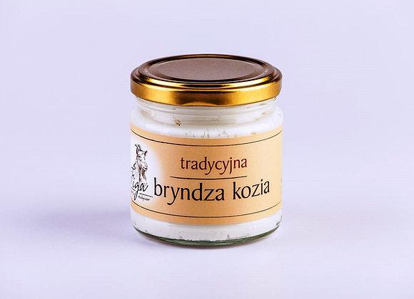 tradycyjna bryndza kozia - słoik szklany 190 g.
