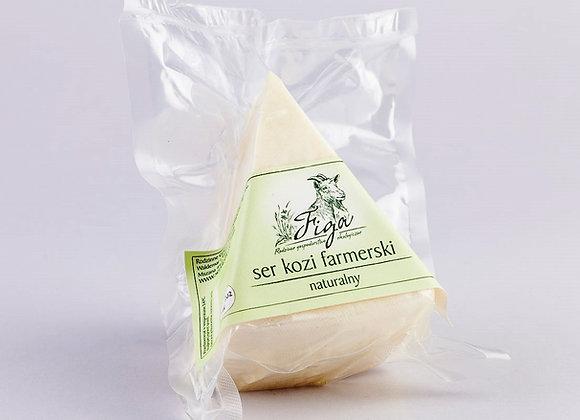 ser kozi farmerski naturalny - trójkąt ok. 200 g.